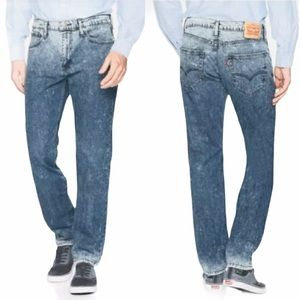 Men's Levi's 502 Acid Wash Straight Leg Jeans